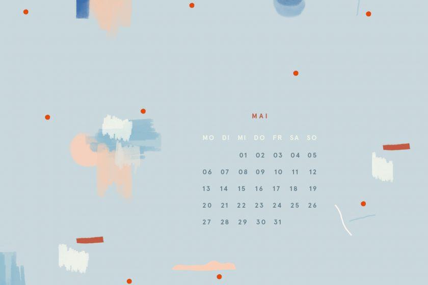 Free Desktop Wallpaper Design Mai 2019 iPad