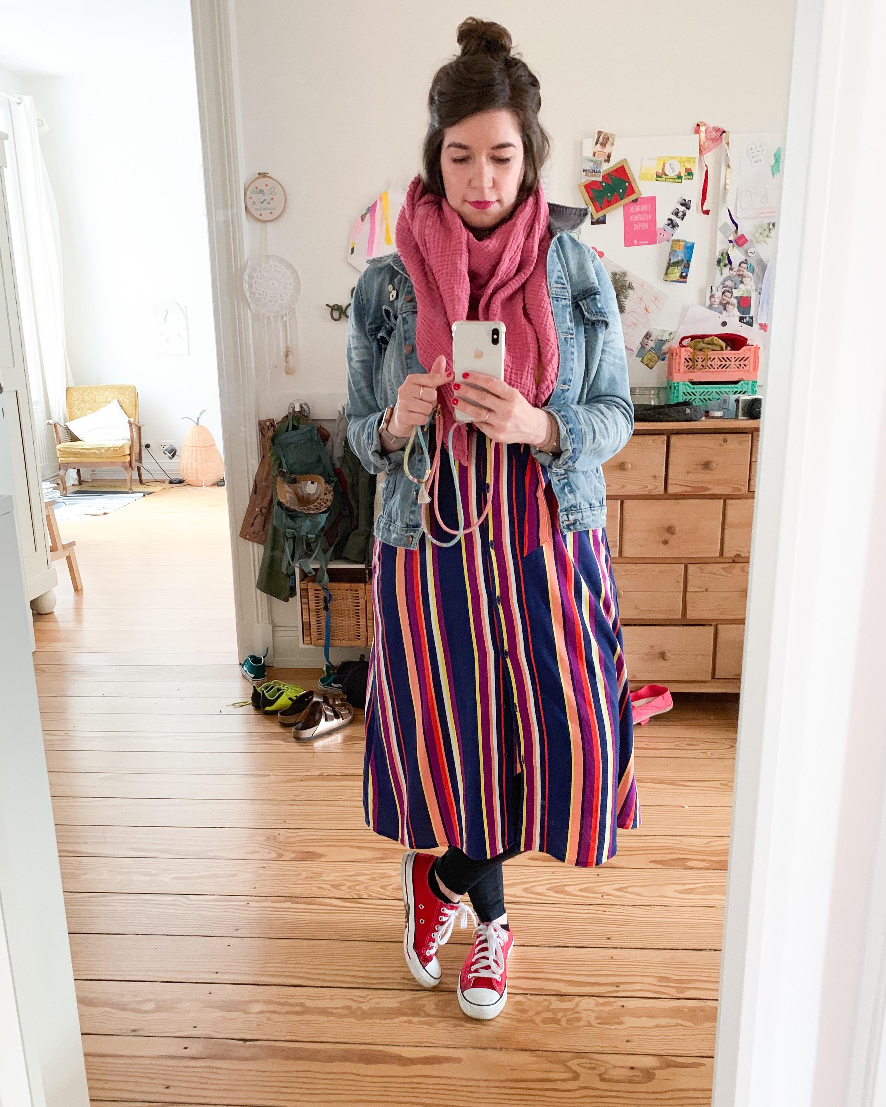 Fair Fashion Sommer Outfit mit Streifenkleid von Armedangels - 1 Teil, 4 Styles