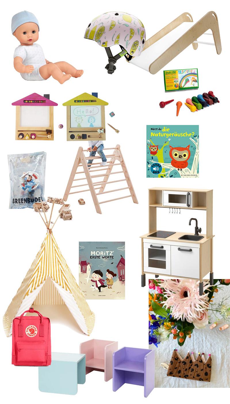 Geschenk-Ideen zum 1. Geburtstag