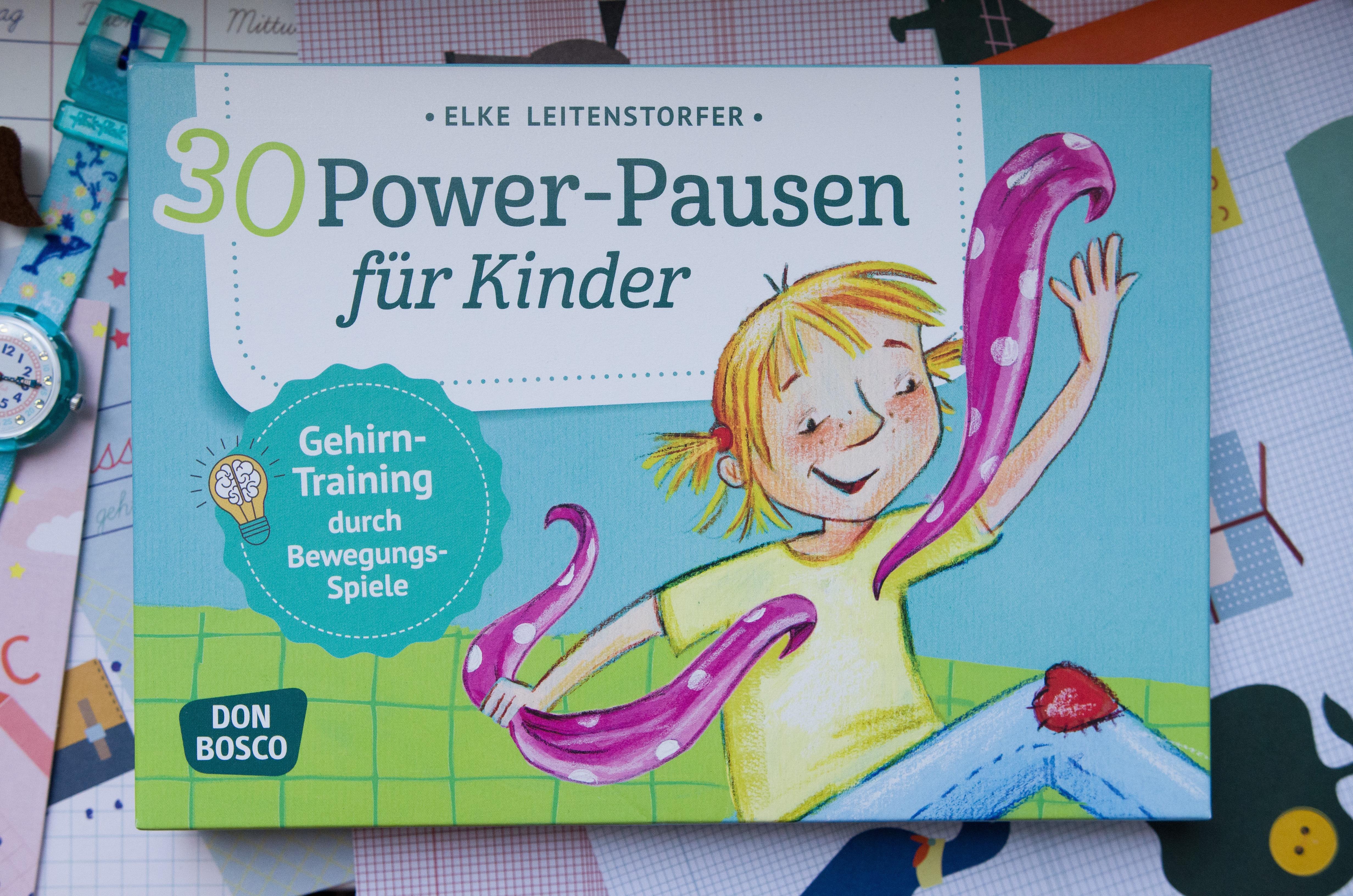 Power Pausen für Kinder - Ideen für die Schultüte