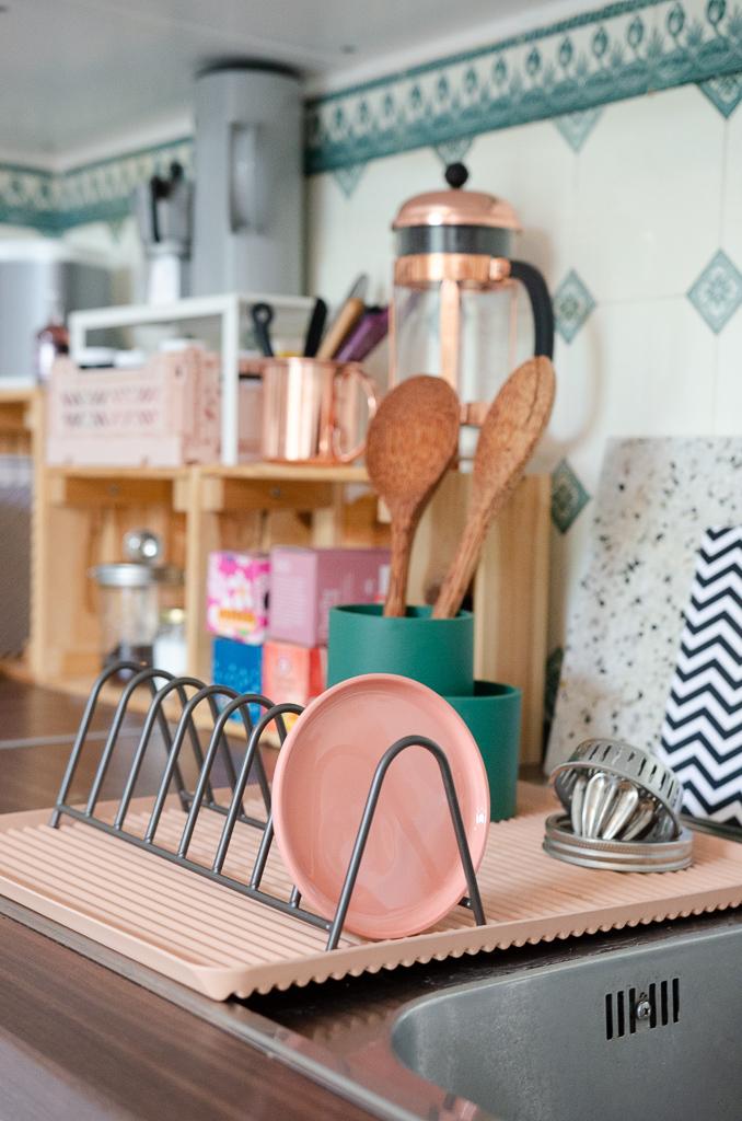 Endlich ein schönes Abtropfgitter - Design in der Küche