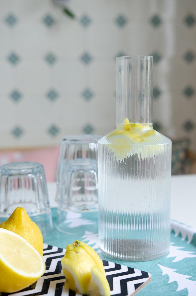 Die schönste Glaskaraffe! Mit Ferm Living die Küche verschhönern