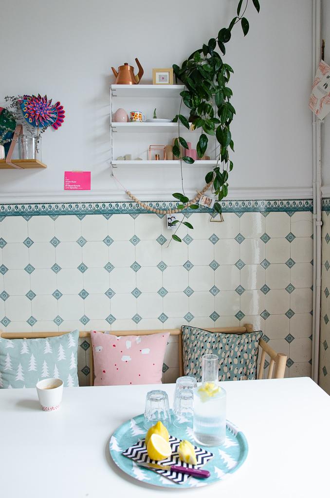 Pinkepank Küche mit gemütlicher Bank