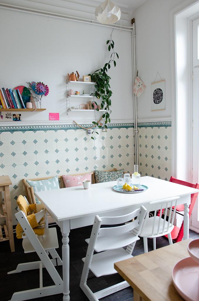 Tisch und Stühle - unser Küchentisch mit Platz für die ganze Familie