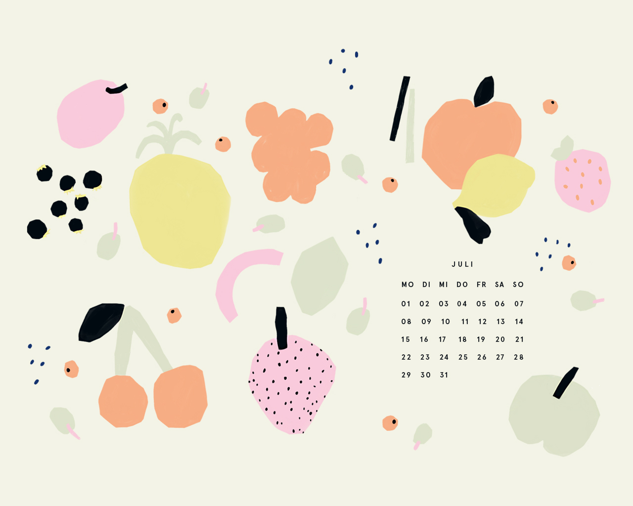 Free Desktop Wallpaper Juli 2019
