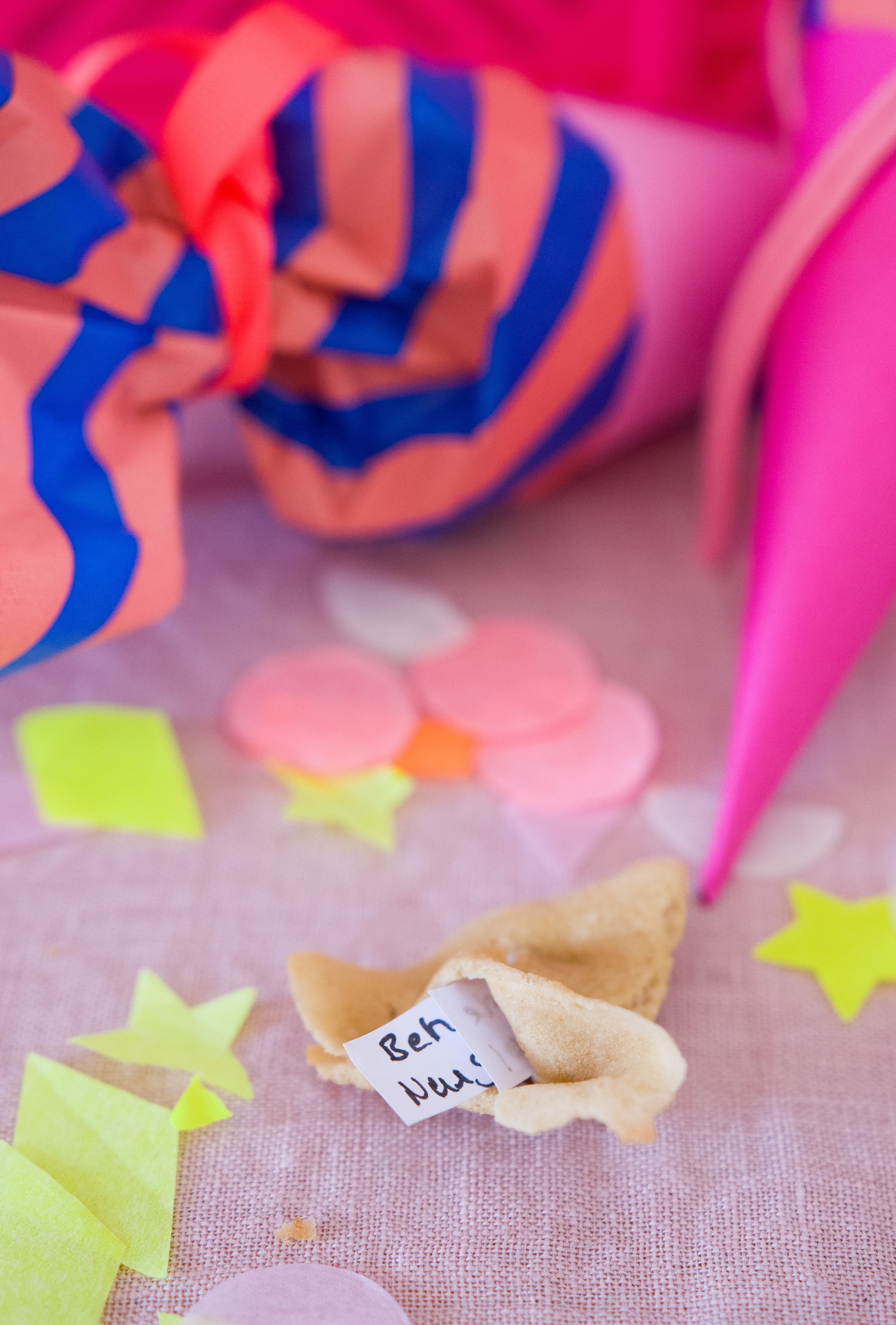 Glückskekse zur Einschulung. Süße Überraschung verpackt in Mini-Schultüte