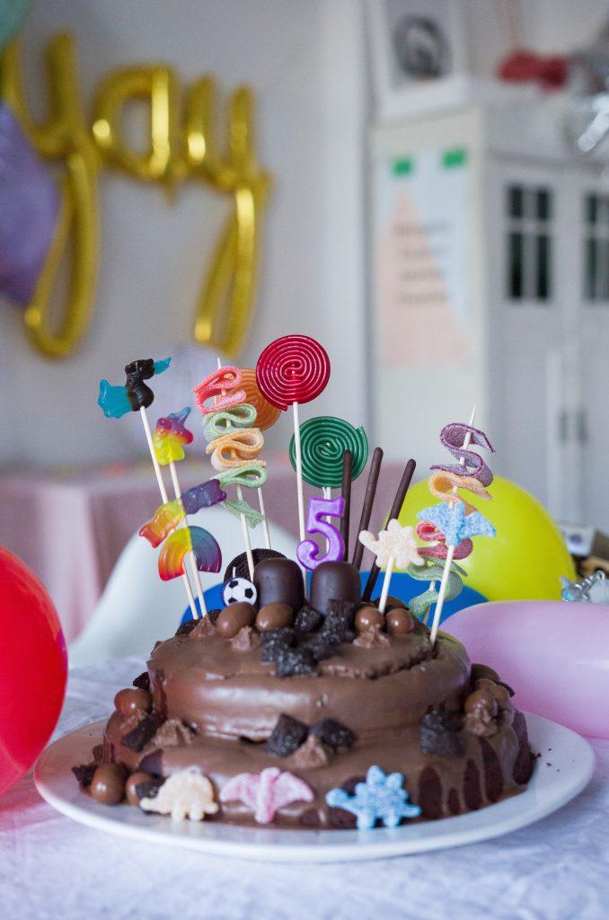 Schokokuchen Zum Geburtstag Easy Peasy Candy Cake