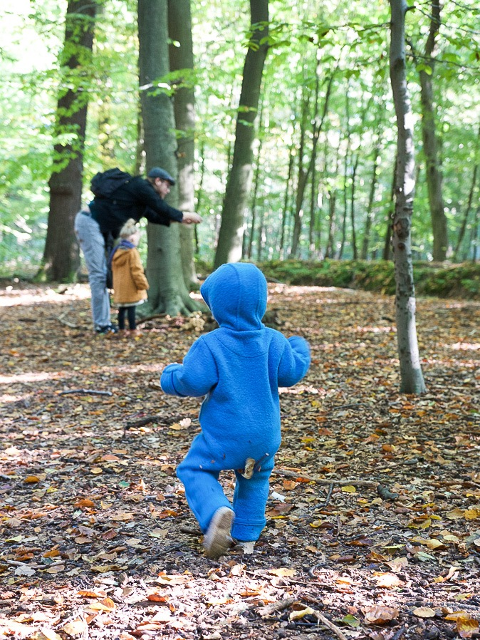 Herbst-Look für (Klein)Kinder mit disana Walk-Overall
