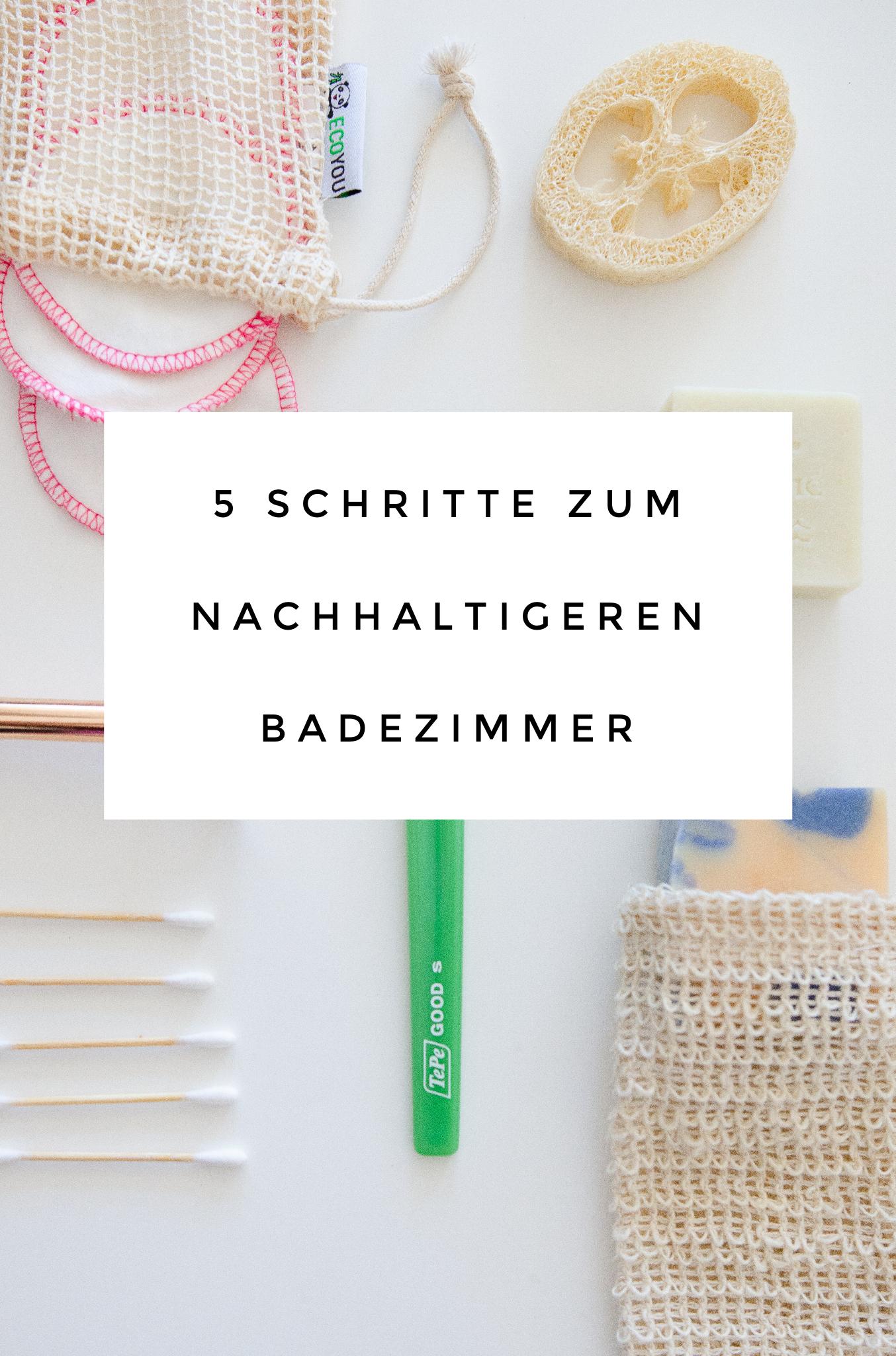 5 Schritte zum nachhaltigeren Badezimmer - mit TePe GOOD, Seife und Rasierhobel