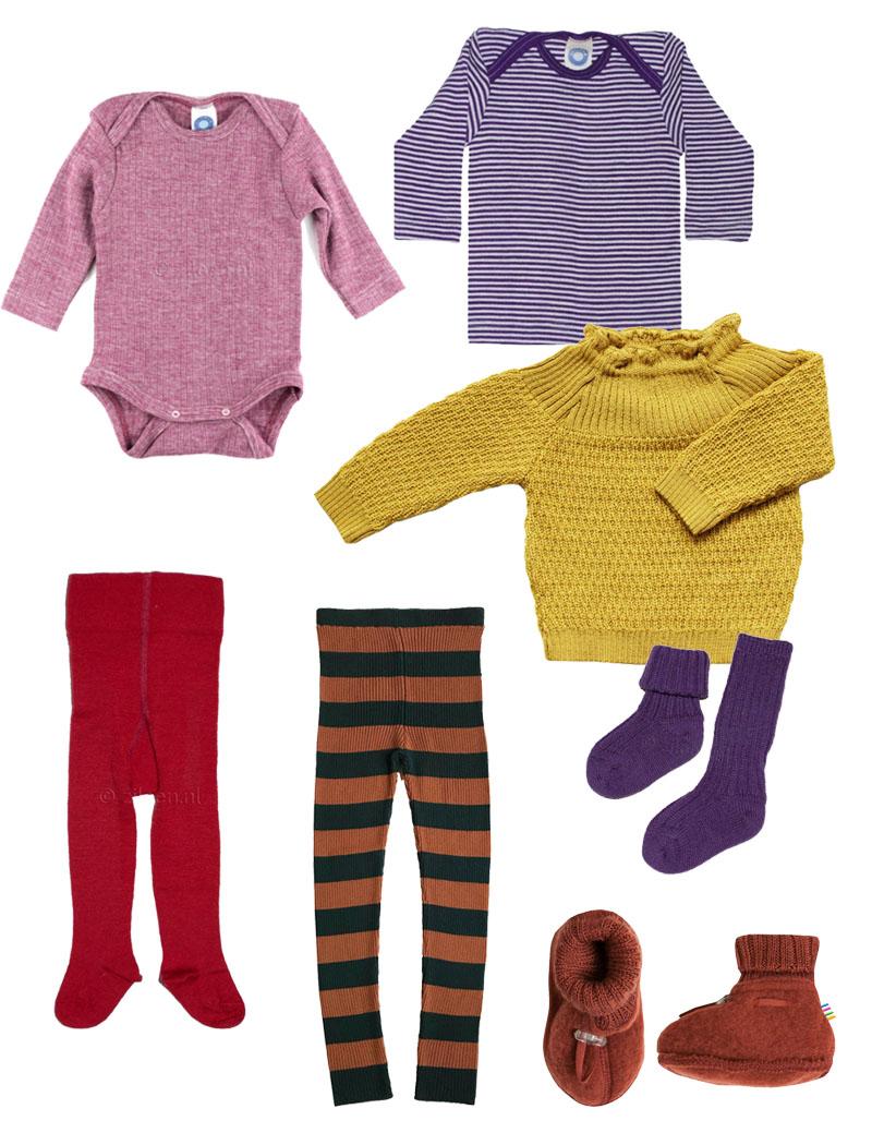 Wolle Seide für Winter Babys und die Frage: Was ziehe ich unterm Walk-Overall an?