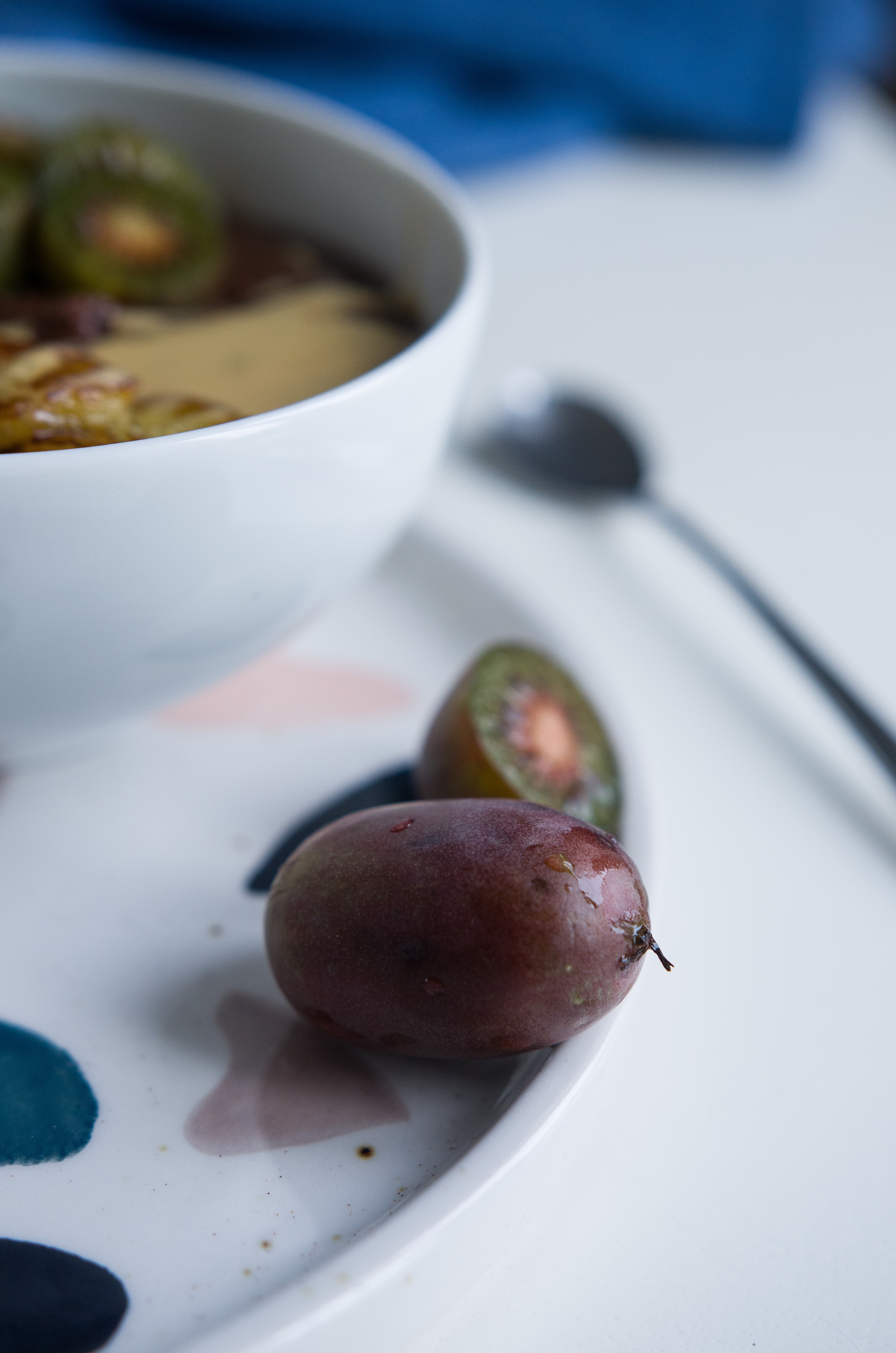 Vitamin C Bombe Mini-Kiwi zum Frühstück