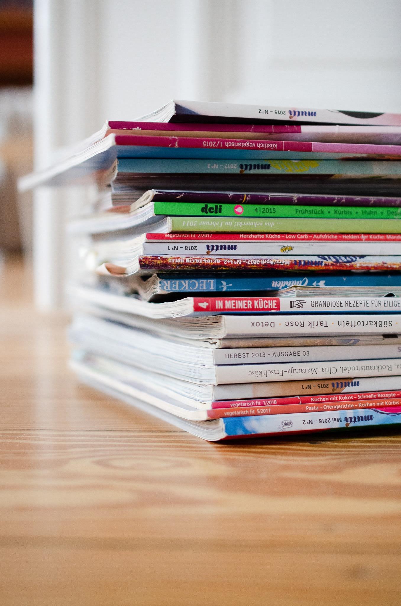 Chaos-Update: Mein Zeitschriften-Dilemma. Oder: Wohin bloß mit den ganzen Magazinen?