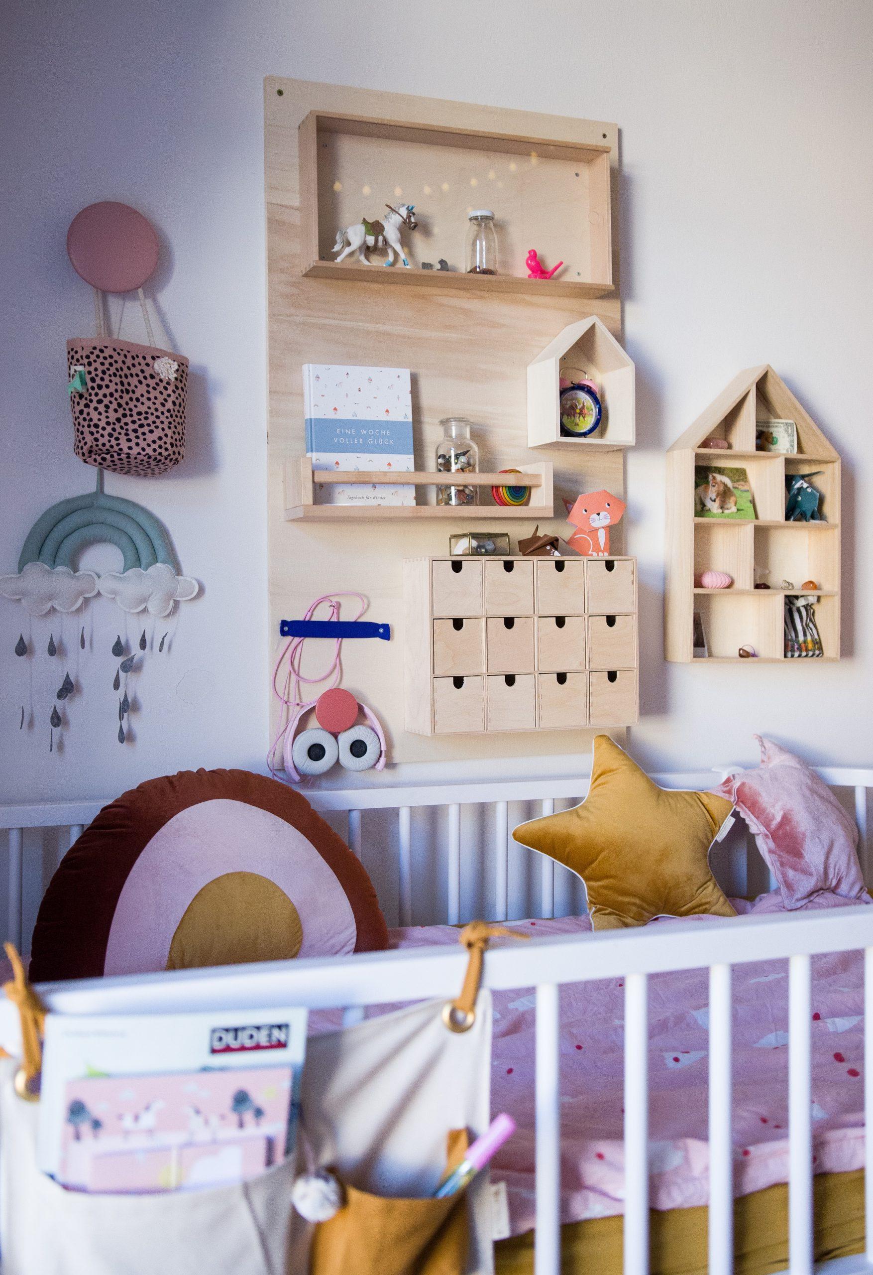 Alles hat einen Platz - ein DIY Utensilo fürs Kinderzimmer