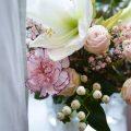 Blumendeko im Winter