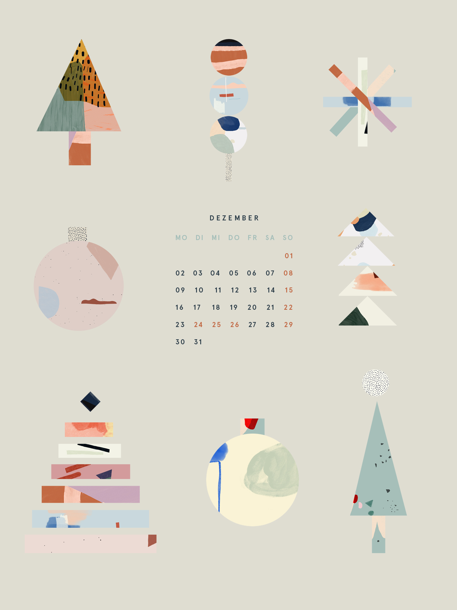 Free Desktop Wallpaper Dezember 2019