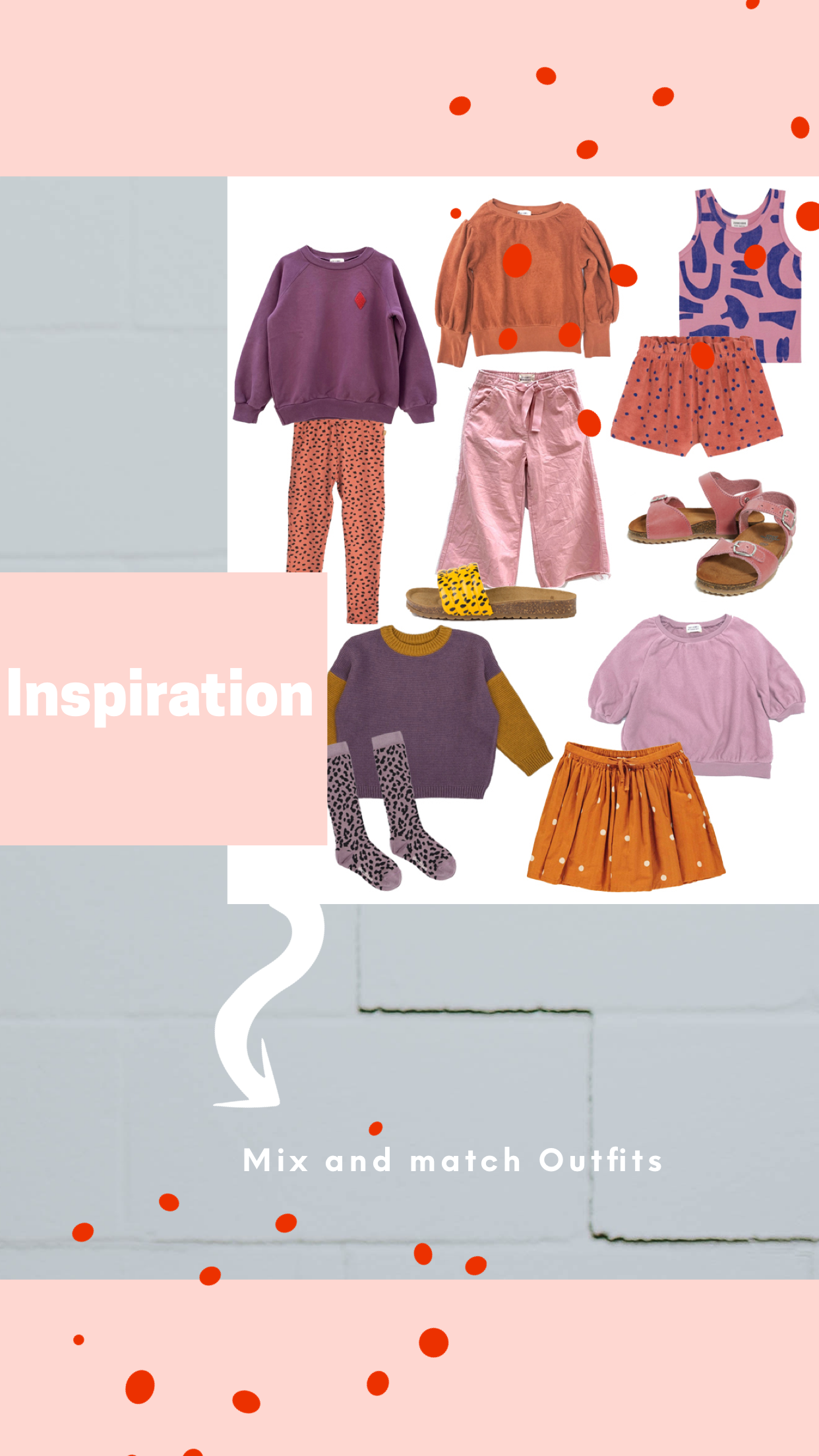 Kids Style vom Winter in den Sommer