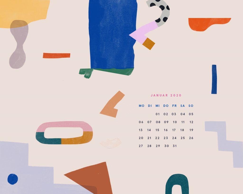 Free Desktop Wallpaper Januar 2020