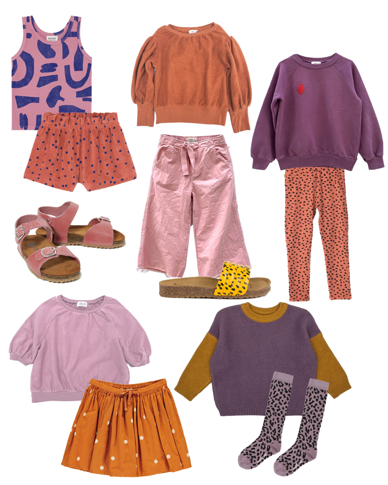 Season-mix-and-match Outfits für Kinder aus Sale und Neuheiten. Die schönsten Teile von Bobo Choses, Long Live The Queen und Monkind. Fair Fashion für Kinder.
