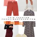 Fair Fashion Frühlingsfavoriten von ARMEDANGELS