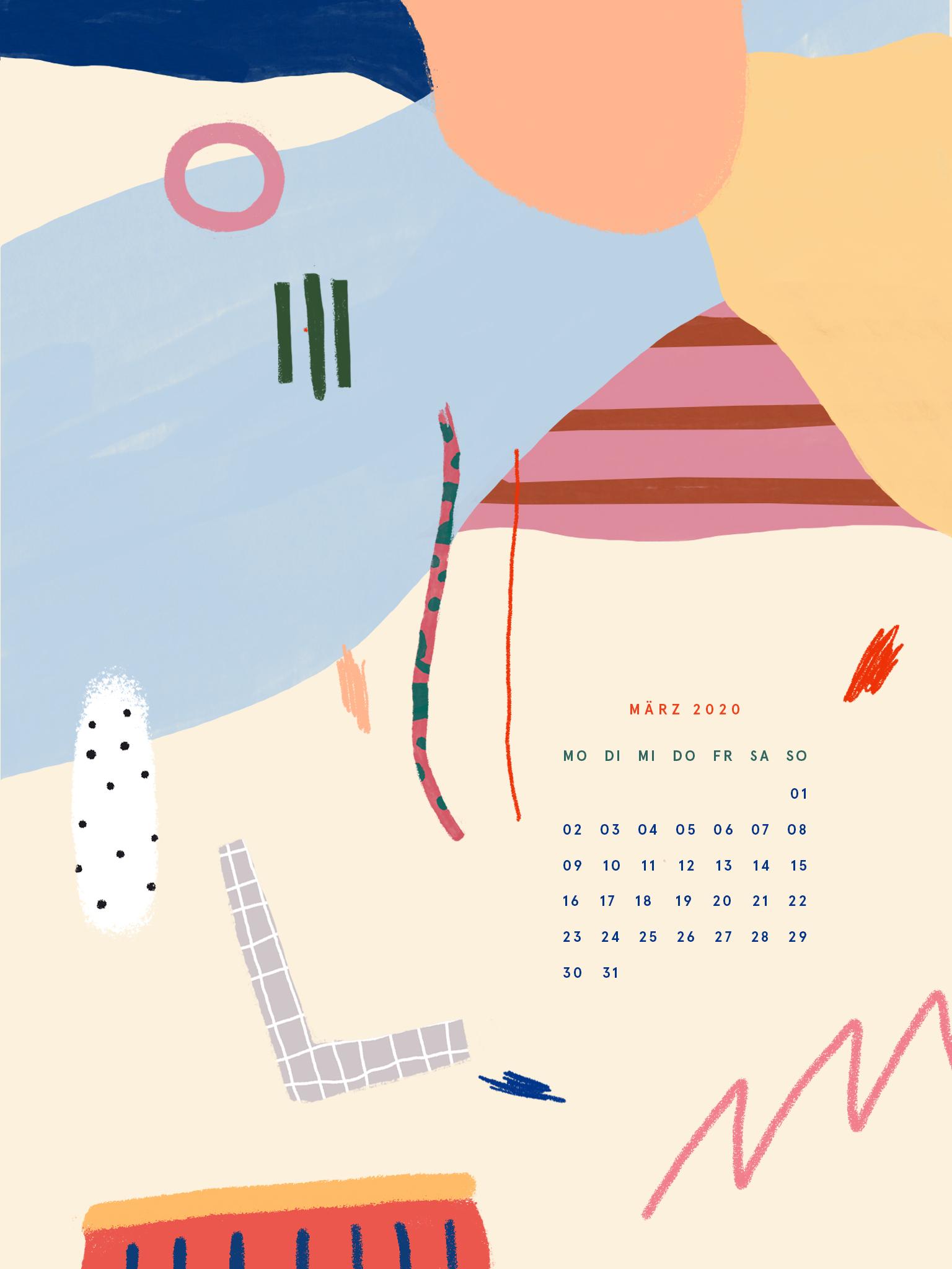 Free Desktop Wallpaper März 2020