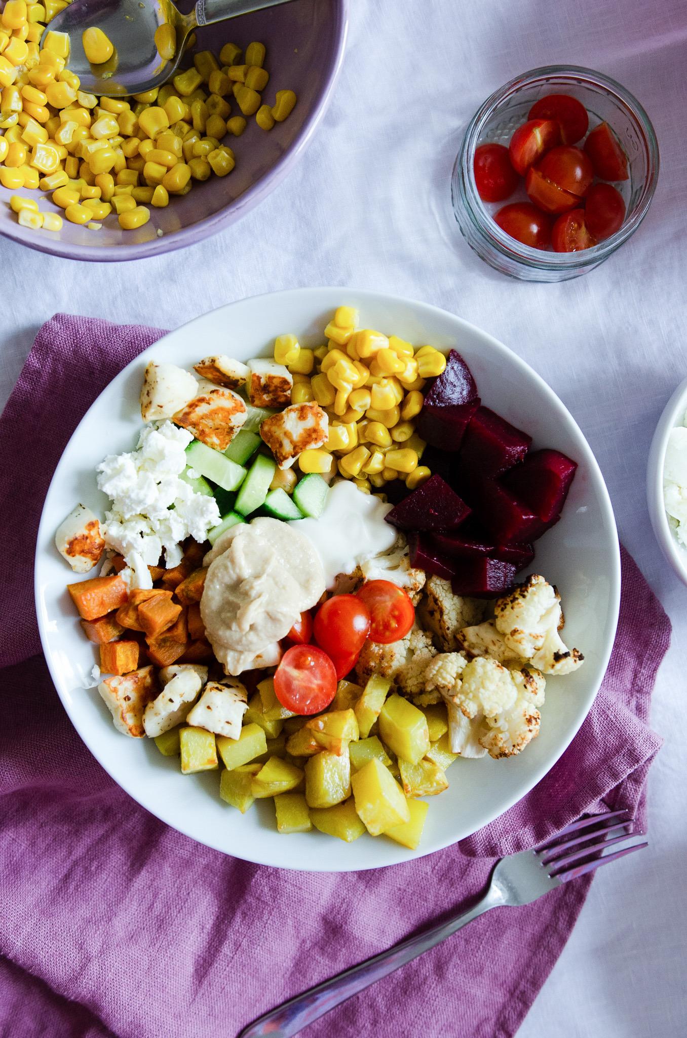 """Perfekt für Familien - die """"Jeder isst, was er mag Bowl"""""""