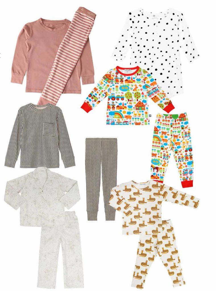 Kunterbunte, schöne Schlafanzüge für Kinder