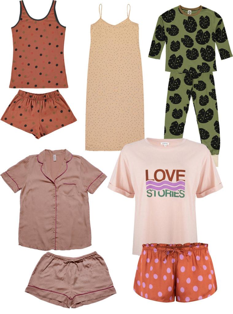Schöne Schlafanzüge, Nachthemden und Pyjamas für Frauen