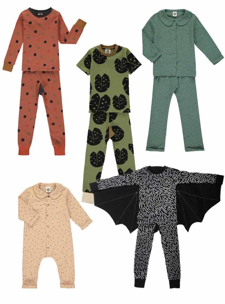 Schöne Schlafanzüge für Kinder aus Bio-Baumwolle von The Bright Company