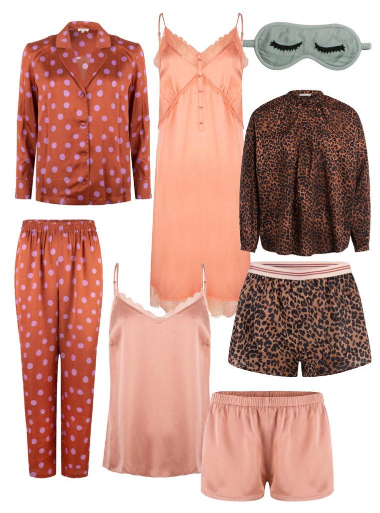 Schöne Schlafanzüge mit Muster für Frauen