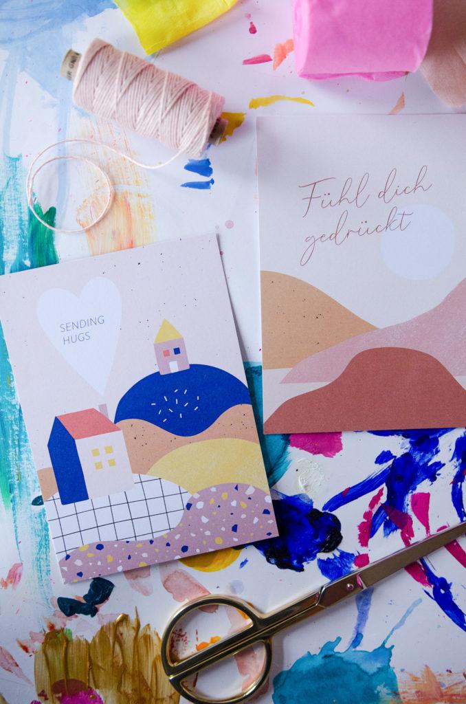 Postkarten von Anna Beddig