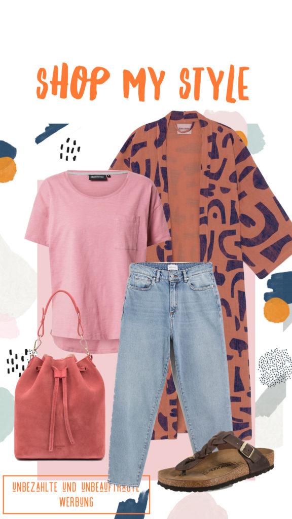 PinkepankStyle Bobo Choses Abstract Kimono