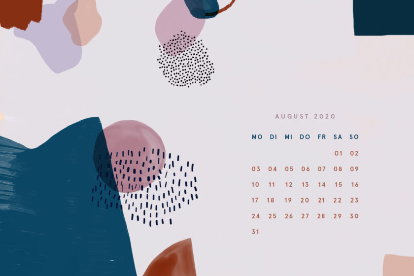 Free Desktop Wallpaper August 2020