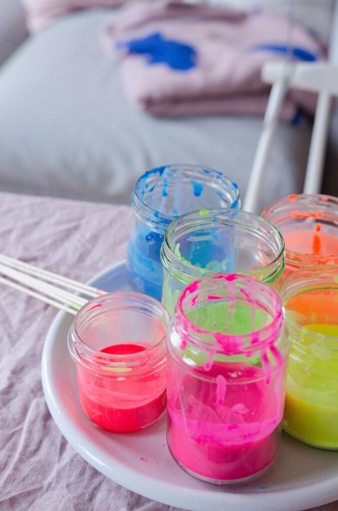 Kerzen färben DIY