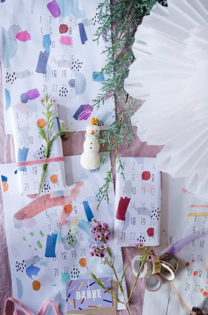 Alltagshelden Adventskalender Free Printable Kinderkunst