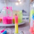 Kerzen färben selbst gemacht