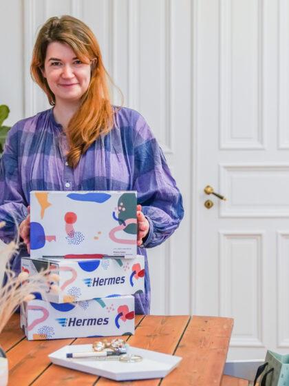 Limited Edition Versandkartons von Hermes im PinkepankStyle. Plus Local Tipps für Lieblingsläden in Hamburg, Berlin, Frankfurt, Stuttgart, Düsseldorf und Köln