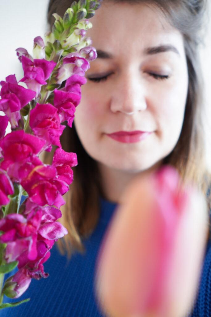 Make-Up-Meditation und Grins-Garantie mit Und Gretel